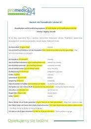 Deutsch mit Promedica24. Lektion 10