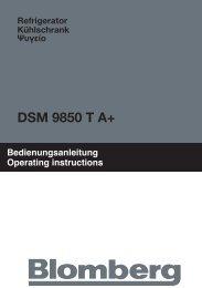 DSM 9850 T A+ - Blomberg