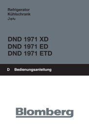 DND 1971 XD DND 1971 ETD DND 1971 ED - Blomberg