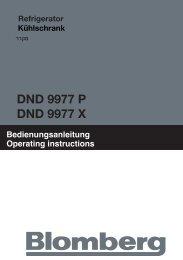 DND 9977 P DND 9977 X - Blomberg