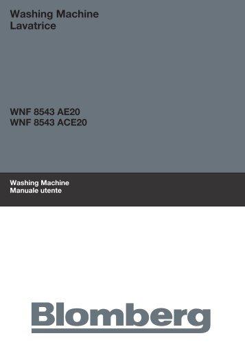 Washing Machine Lavatrice - Blomberg
