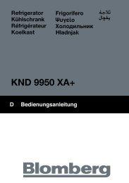 KND 9950 XA+ - Blomberg