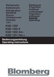 KQD 1250 KQD 1250 X KQD 1250 XA+ KQD 1251 XA++