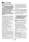 Gebrauchsanleitung - Blomberg - Seite 5