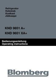 KND 9651 A+ KND 9651 XA+ - Blomberg