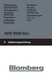 KFD 9950 XA+ - Blomberg