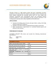 GLYCOGEN COOLANT 30% - General Petroleum