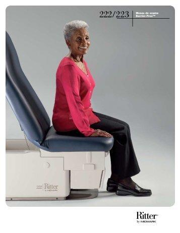 222/223 Mesas de exame Barrier-Free™ - Medical Equipment Pros