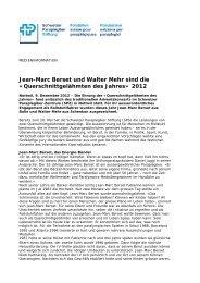 Querschnittgelähmten des Jahres» 2012 - Schweizer Paraplegiker ...