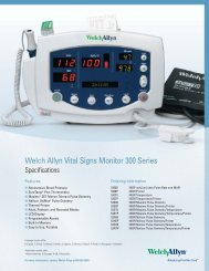 Vital Signs Monitor 300 Series Technical Specs - Medical ...