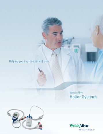 Holter Systems Sales Brochure