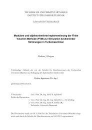 Modulare und objektorientierte Implementierung der Finite Volumen ...