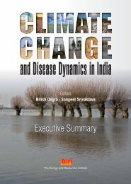 Climate Change and Disease Dynamics in India - National Centre ...