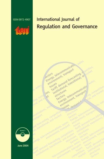 IJRG 4-1 pdf - TERI Bookstore
