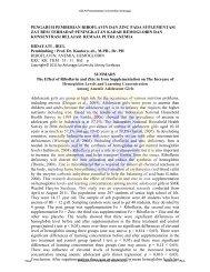 pengaruh pemberian riboflavin dan zinc pada suplementasi zat besi ...