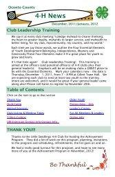 Dec 11 Jan 12 booklet newsletter trial - Oconto County