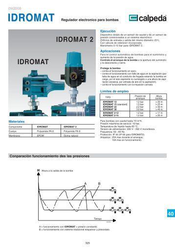 idromat 2 - Calpeda