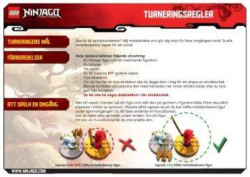Turneringsregler - Lego
