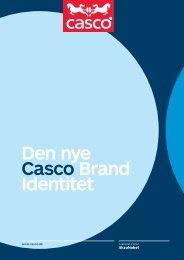 Den nye Casco Brand Identitet En W iden
