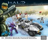 Thank You For Purchasing UNSC ArCTiC WolveriNe ... - Mega Bloks