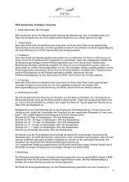 AGB Sprachreise, Praktikum, Volunteer 1. Zustandekommen des ...