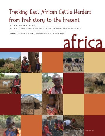 Tracking East African Cattle Herders from Prehistory to the Present
