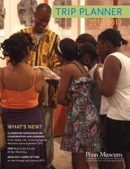 Download the Group Tour Trip Planner Brochure - University of ...