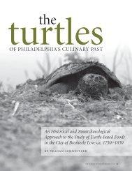 of philadelphia's culinary past - University of Pennsylvania Museum ...