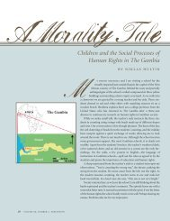 Children and the Social Processes of Human Rights in The Gambia