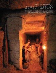 Download the pdf - University of Pennsylvania Museum of ...