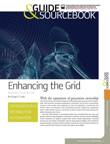 Enhancing the Grid