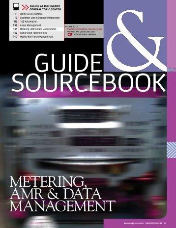 METERING, AMR & DATA MANAGEMENT