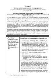 Anlage 1 1. Fachliche Voraussetzungen diabetologisch qualifizierter ...