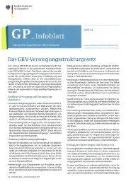 GKV-Versorgungsstrukturgesetz - ASbH