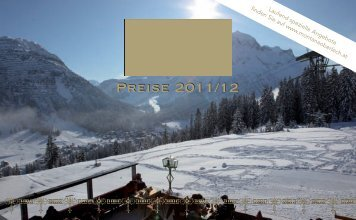 Preise 2011/12