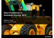 Neue Funktionen in Neue Funktionen in Autodesk Inventor 2010
