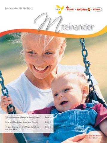 Ausgabe 2011-1 als PDF herunterladen - BKK Rieker . Ricosta ...