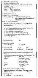 Download des vollständigen Ausschreibungstextes - Völklinger Hütte