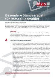 BeSondere StandeSregeln für ImmoBIlIenmakler - c-ocean 1.5 (cms ...