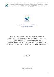 Procedura di registrazione EMAS - Ispra
