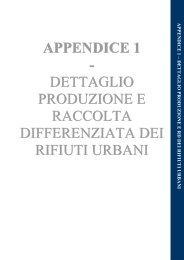 Capitolo 2 Appendice 1 Rapporto Rifiuti Urbani 2013 - Ispra