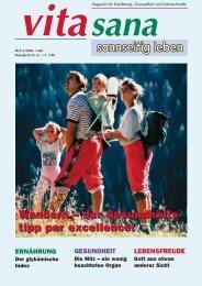 Wandern – der Gesundheits- tipp par excellence! Wandern – der ...