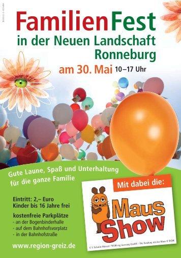 FamilienFest am 30. Mai10–17 Uhr in der ... - Antenne Thüringen