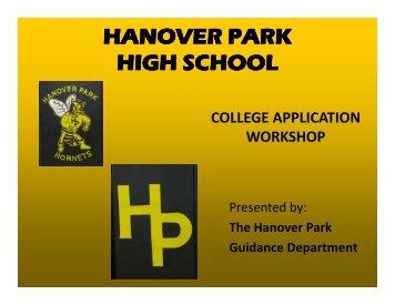 2010 Registration Dates - Hanover Park High School