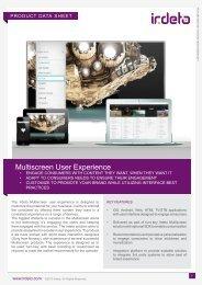 Multiscreen User Experience - Irdeto