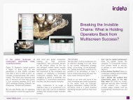 Breaking the Invisible Chains: What is Holding Operators ... - Irdeto