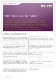 Irdeto Professional Services