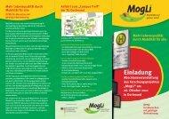 Mehr Lebensqualität durch Mobilität für alle Einladung - ESM AnSaT