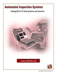 www.ais4ndt.com Catalog #23 of UT Data Systems and ... - Imimg