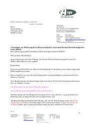 buch (SGB II) - Beispielklagen